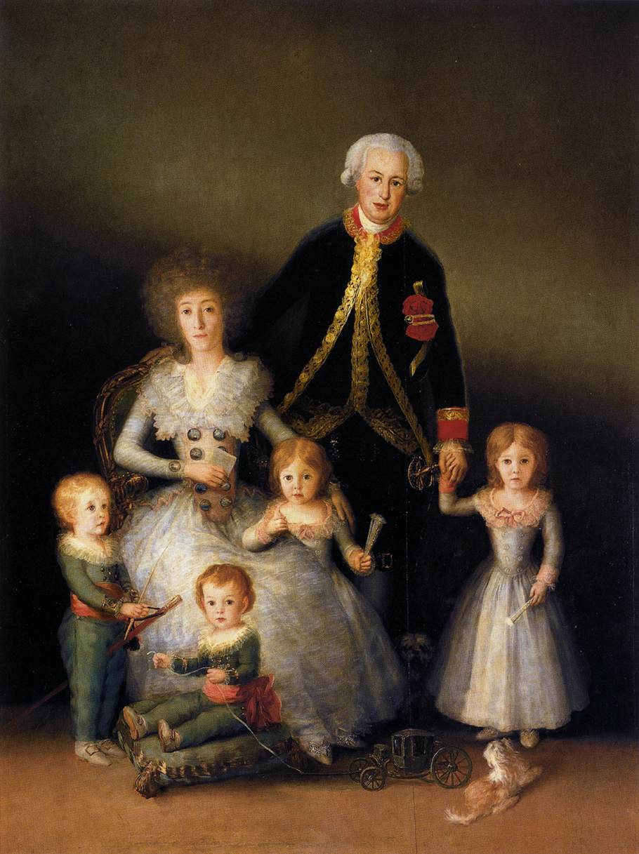 The Family of the Duke of Osuna