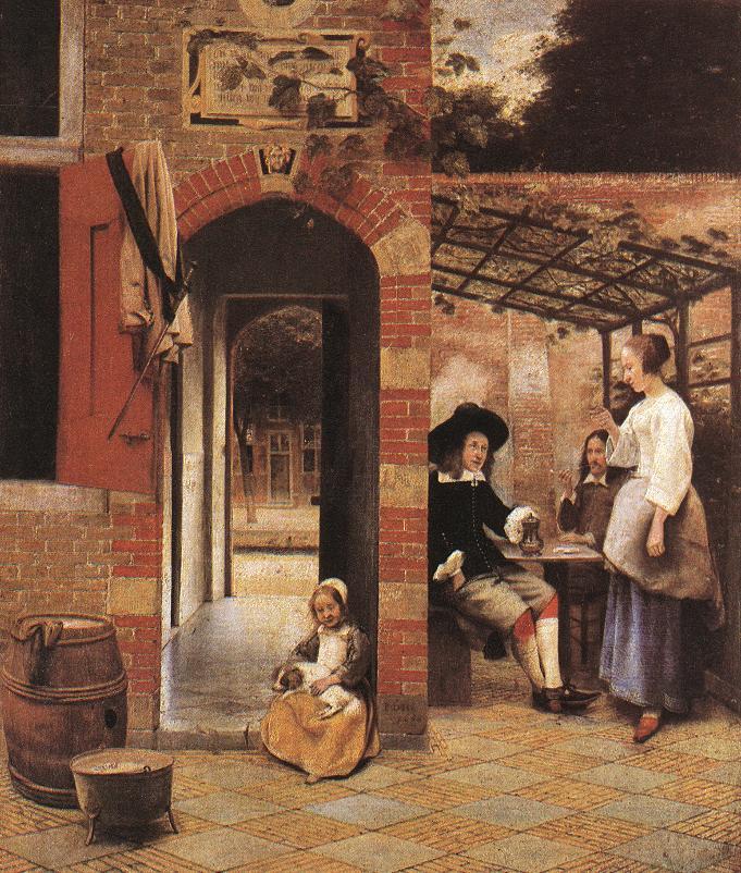 Life of PIETER DE HOOCH