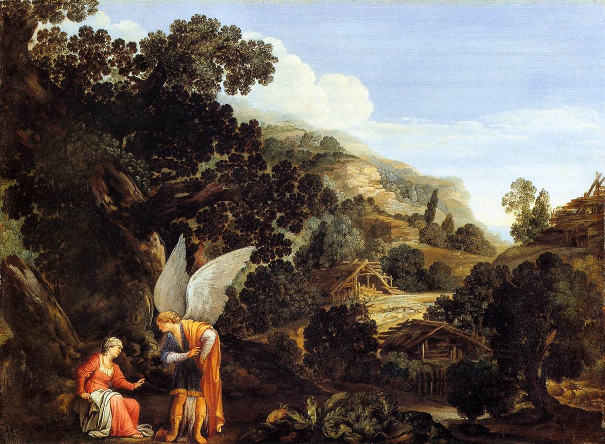 An Angel Appearing to the Wife of Manoah