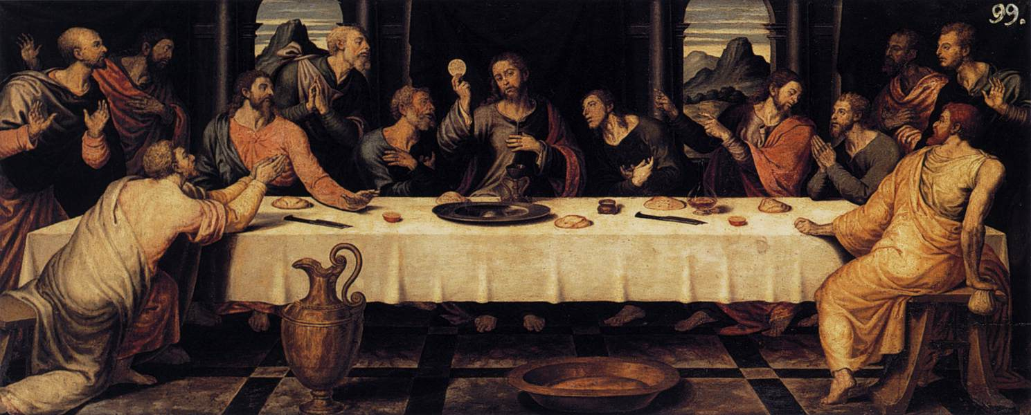 Thelastsupper Paint Art Gallery Art Painters Picture Image