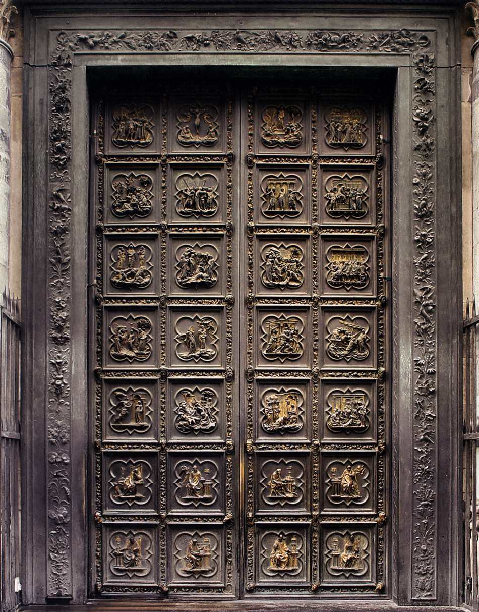 North Doors (Life of Christ)