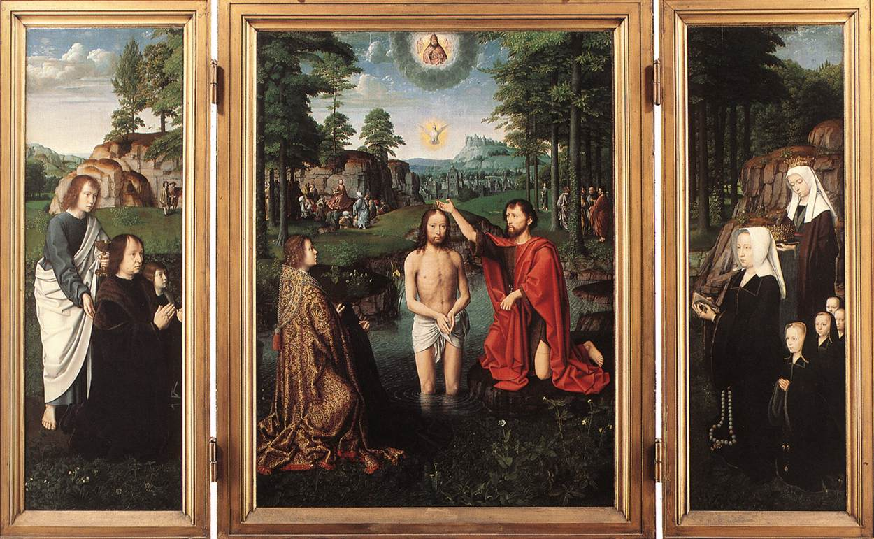 Triptych of Jan Des Trompes