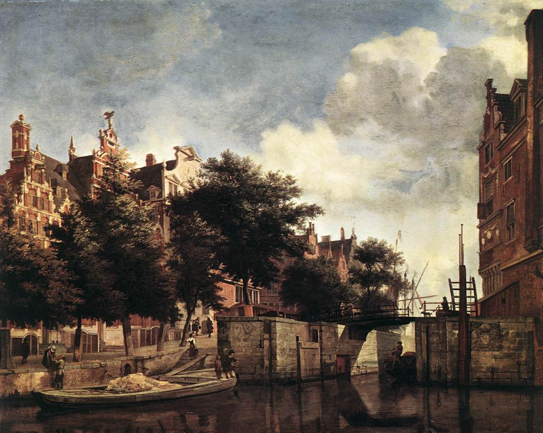 The Martelaarsgracht in Amsterdam