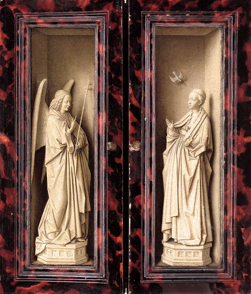 Small Triptych (outer panels)