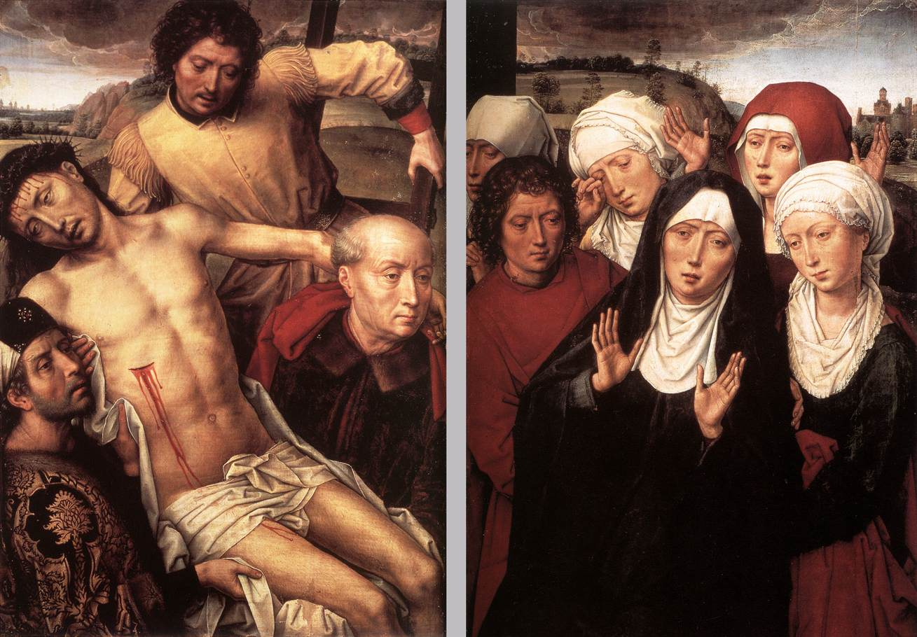 Diptych with the Deposition