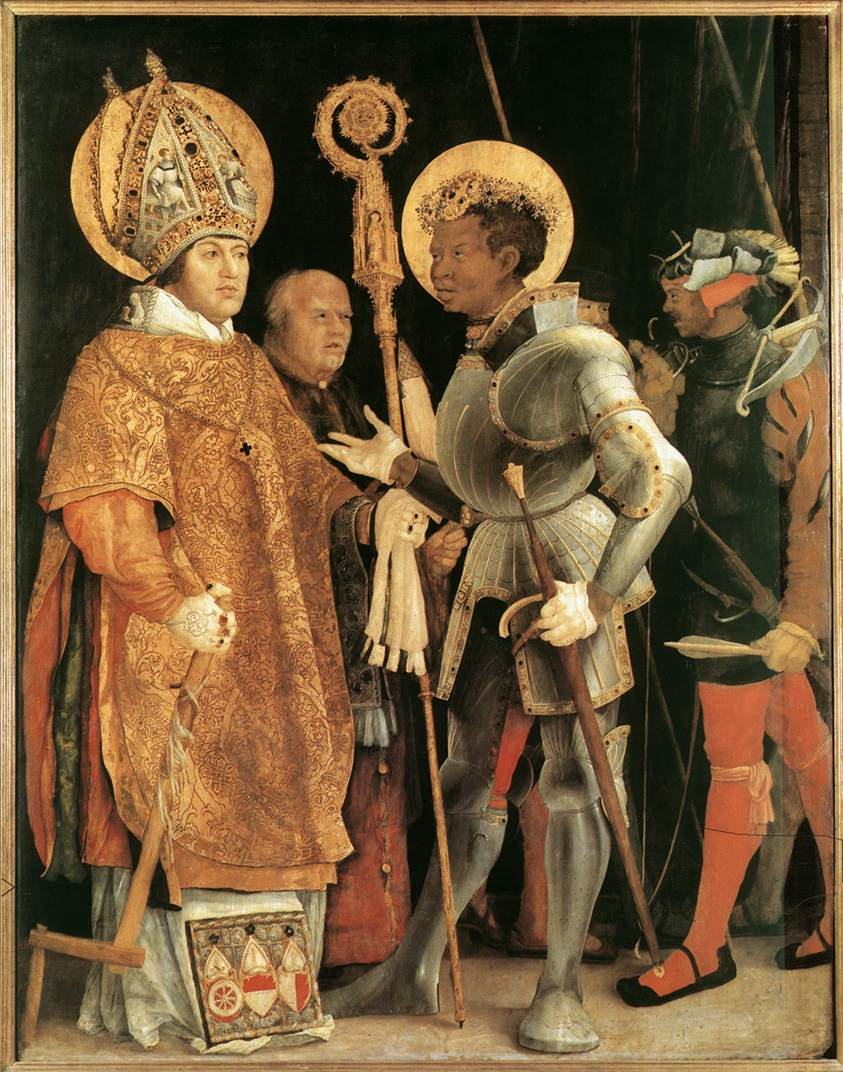 St Maurice, black patron saint of the Holy Roman Empire