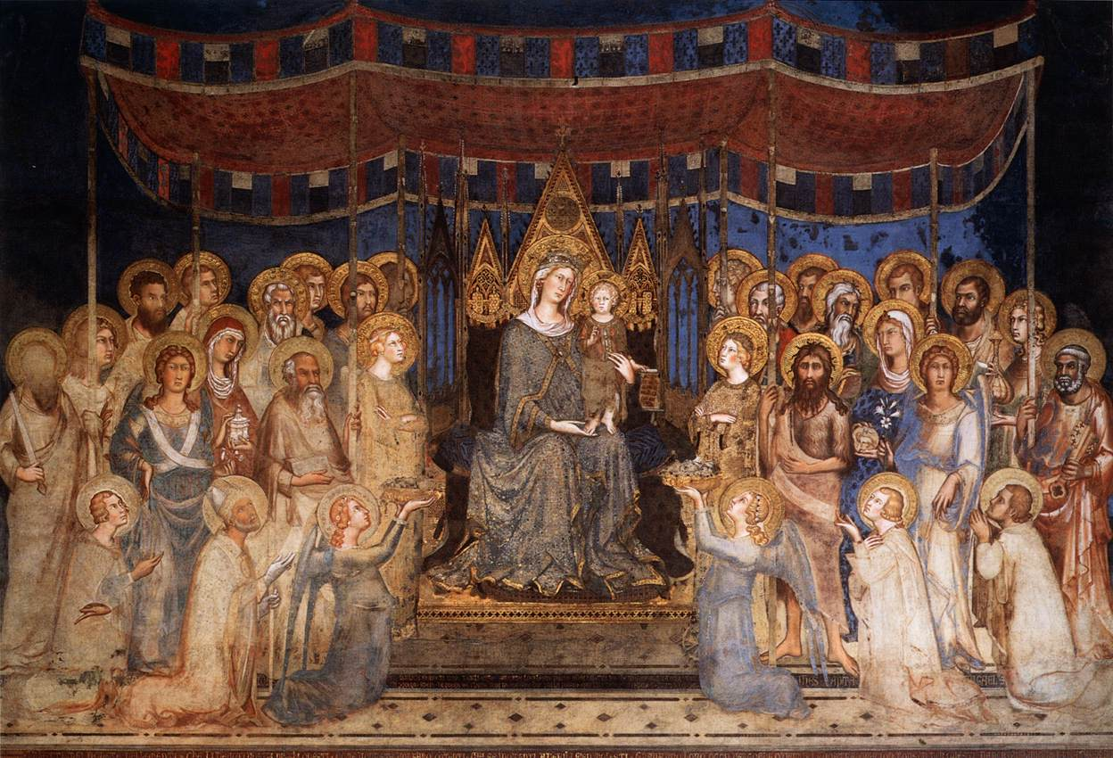 Maestà (Madonna with Angels and Saints)