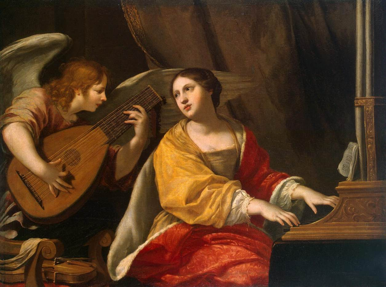 st cecilia by blanchard jacques st cecilia by jacques blanchard