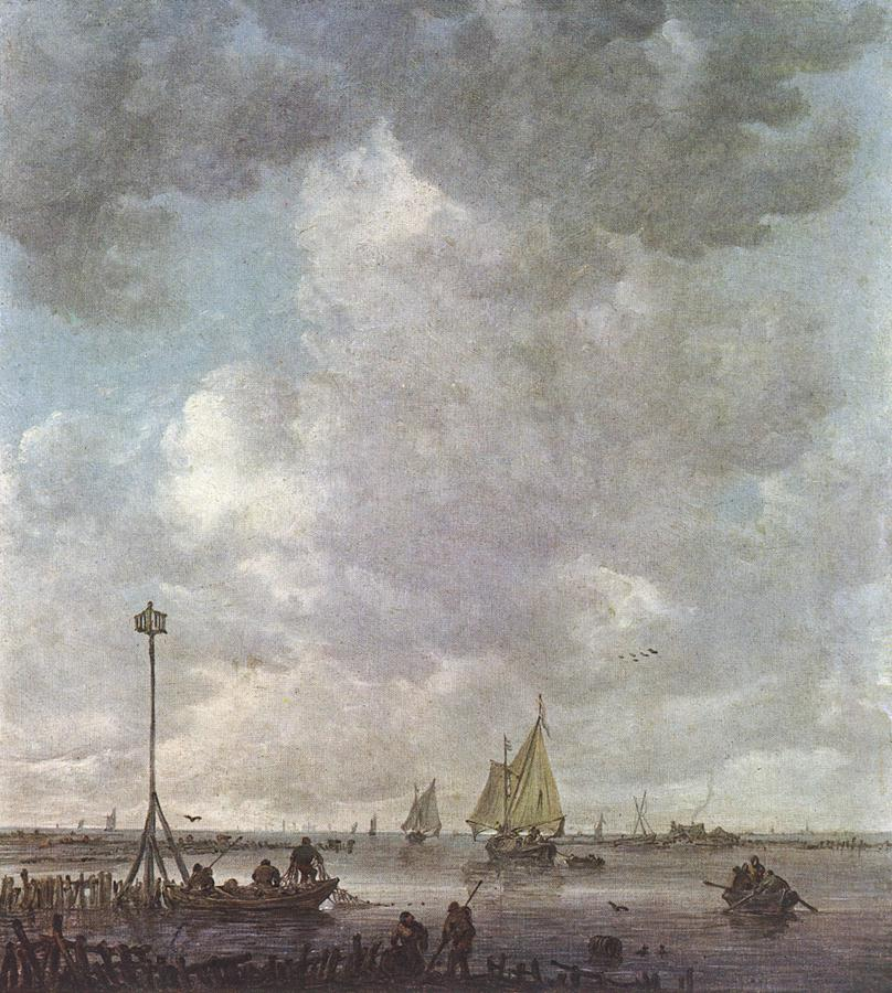Marine Landscape with Fishermen