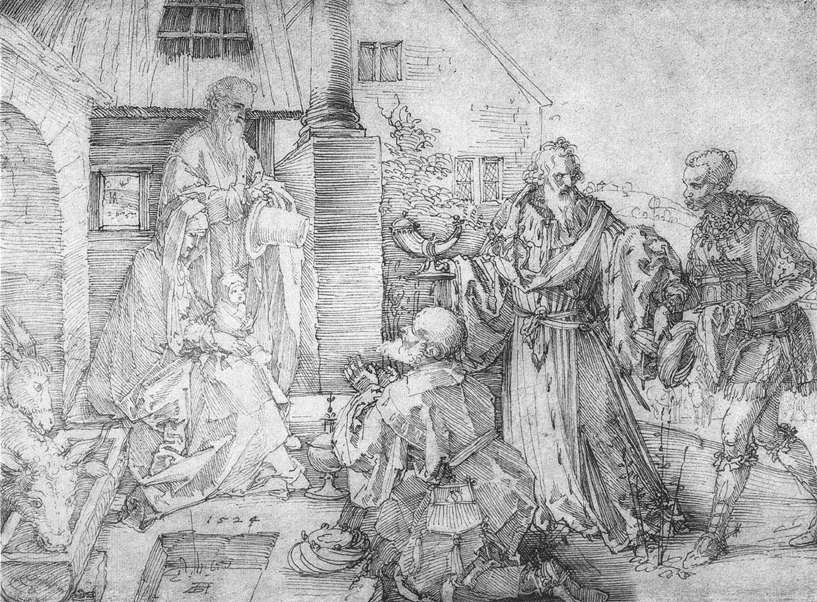 The Adoration of the Wise Man