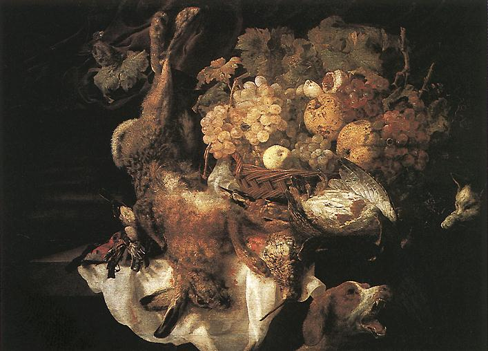 Still-life with Dog
