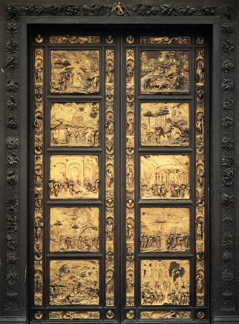 Eastern Door of the Baptistry