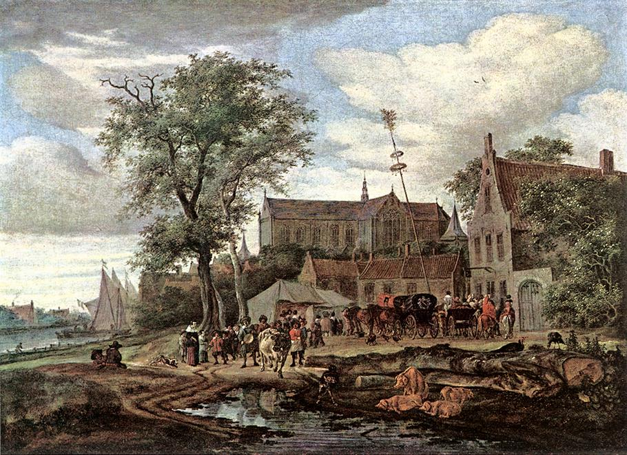 Tavern with May Tree