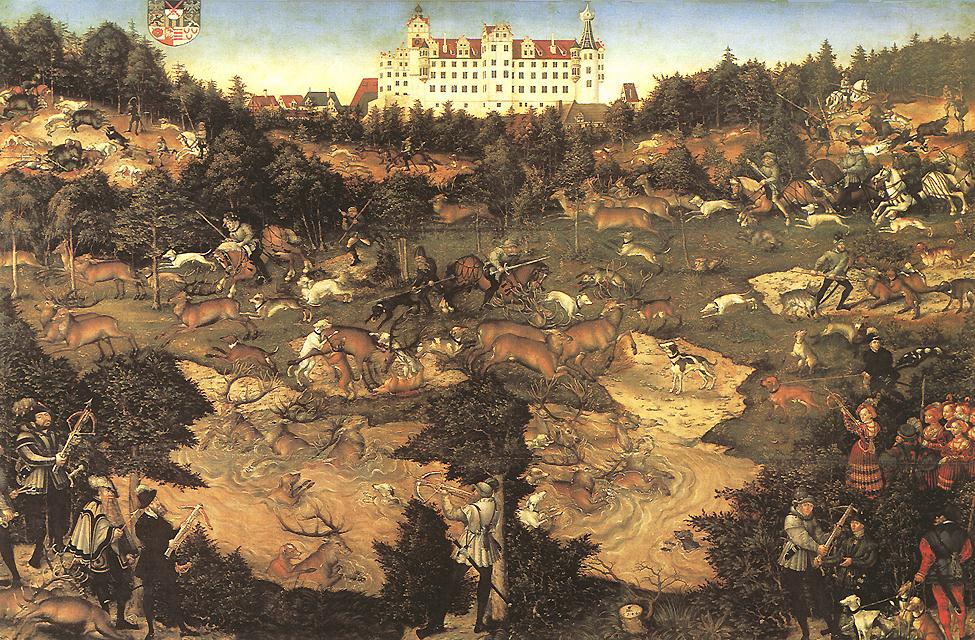 Hunt in Honour of Charles V at the Castle of Torgau