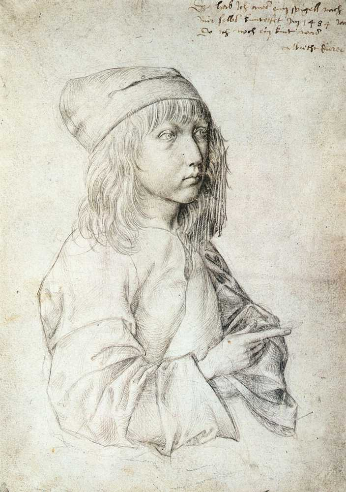 Self-Portrait at 13