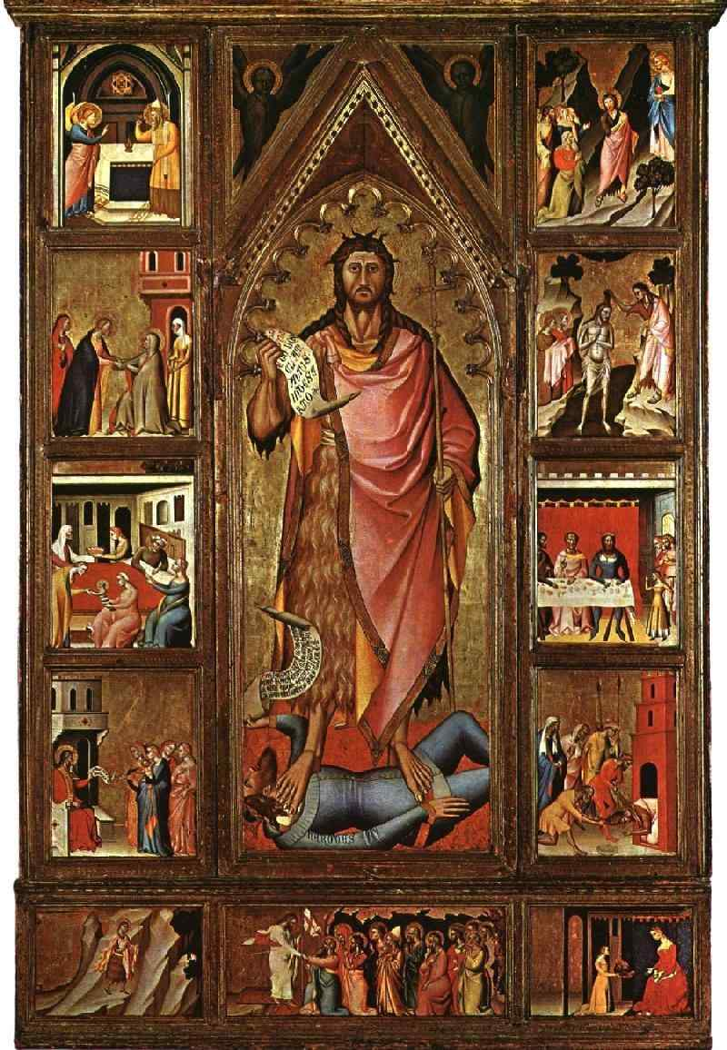 Altarpiece of the Baptist