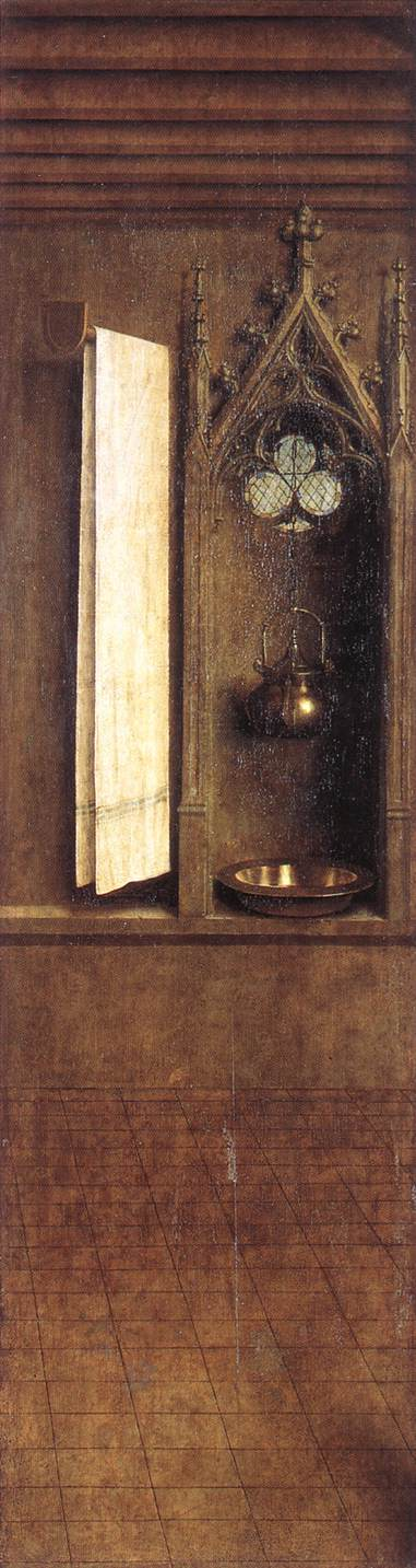 The Ghent Altarpiece: Niche with Wash Basin