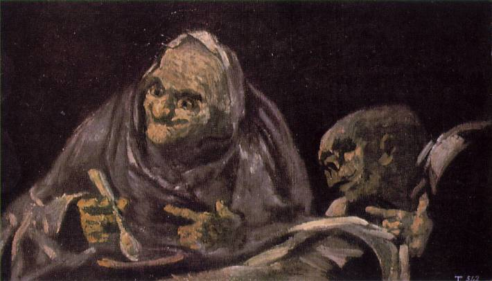 Two Women Eating