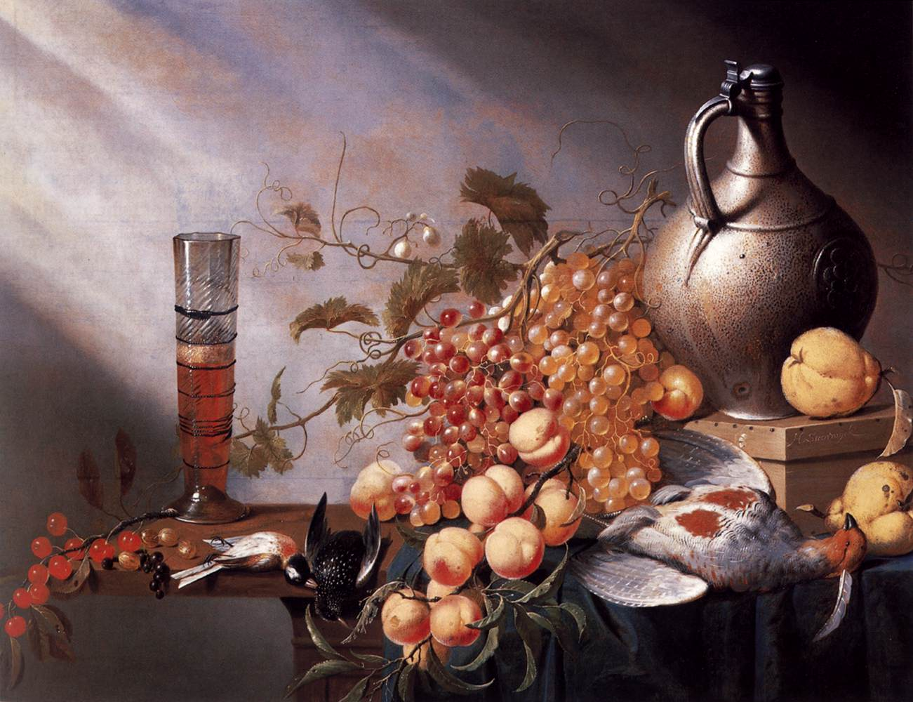 Still-Life of Fruit and Dead Fowl