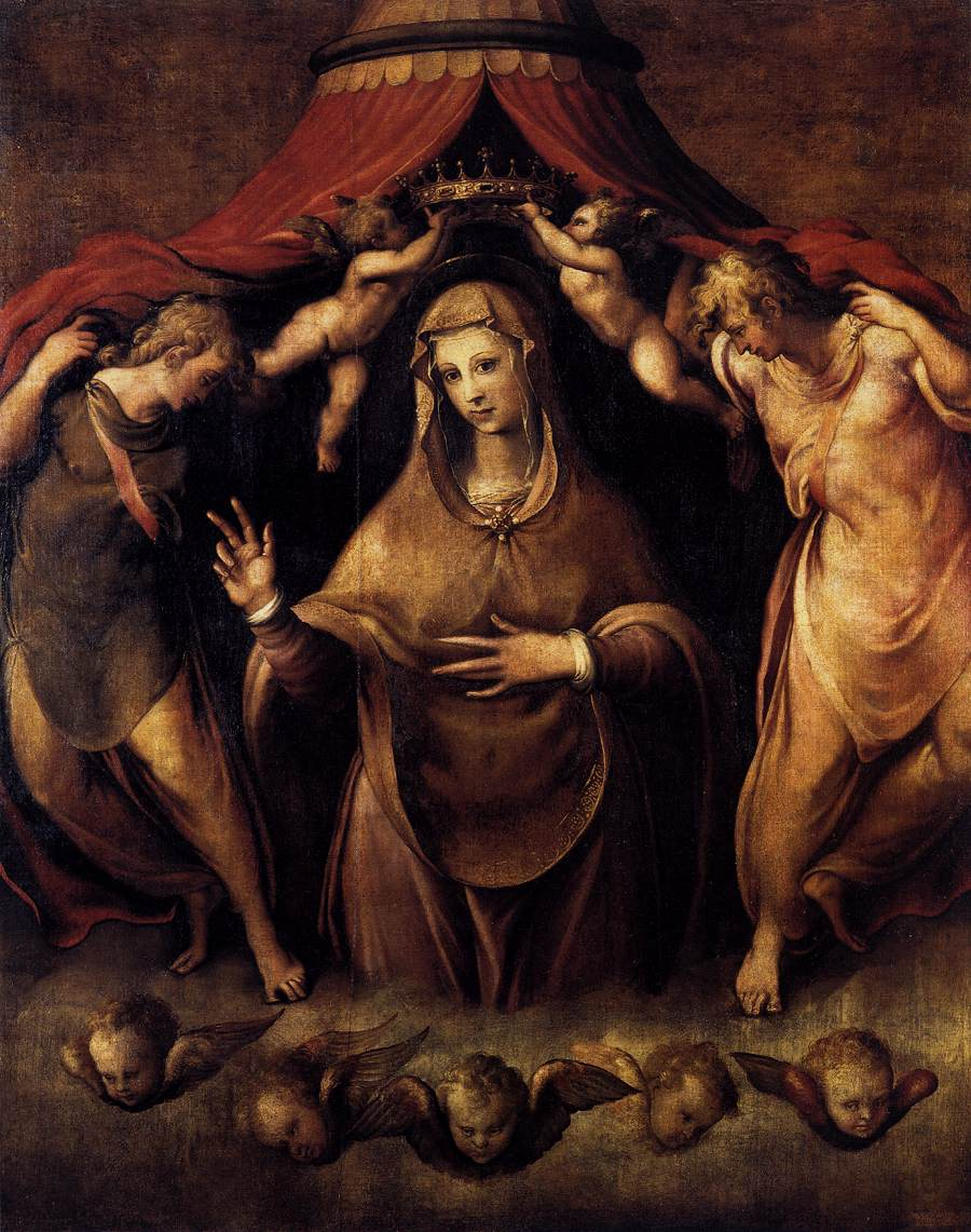 Coronation of the Virgin with Angels