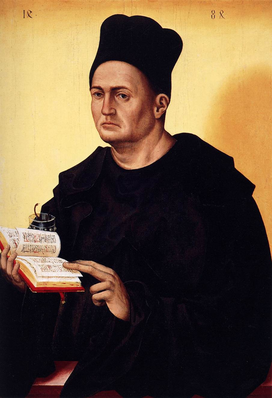 Portrait of a Benedictine Monk