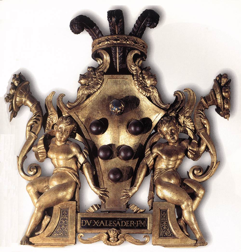 Coat-of-Arms of Duke Alessandro de' Medici