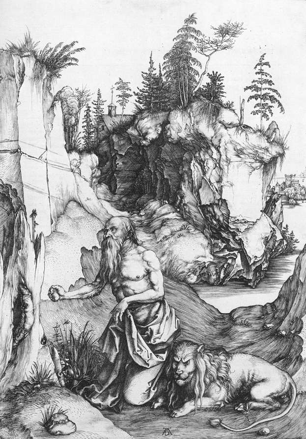 St Jerome Penitent in the Wilderness
