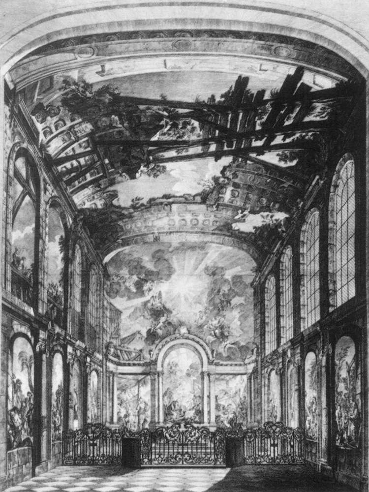 View of the Foundlings' Chapel in Paris