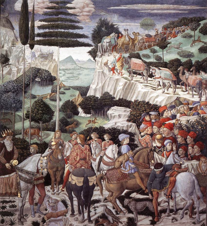 Procession of the Oldest King (west wall)
