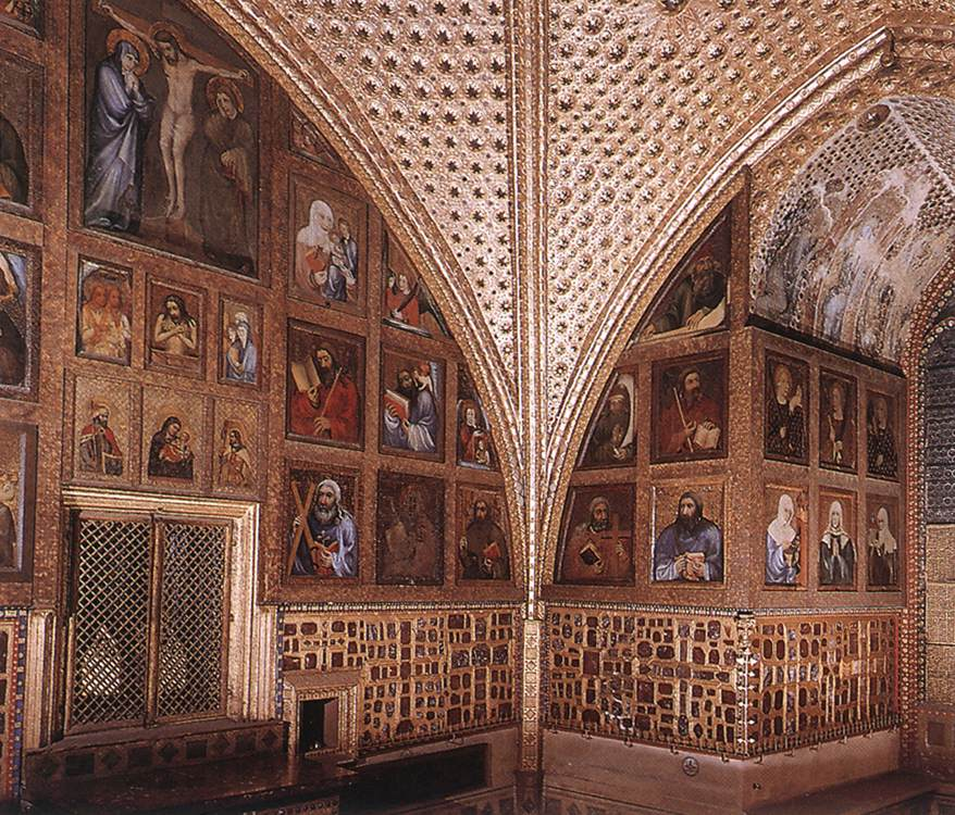 Paintings of saints