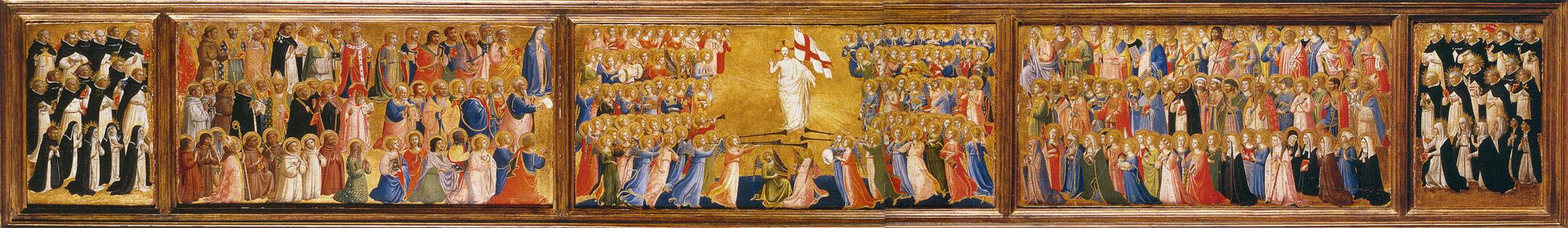 Predella of the San Domenico Altarpiece