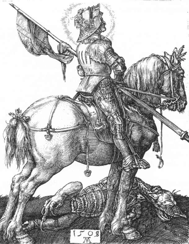 St George on Horseback