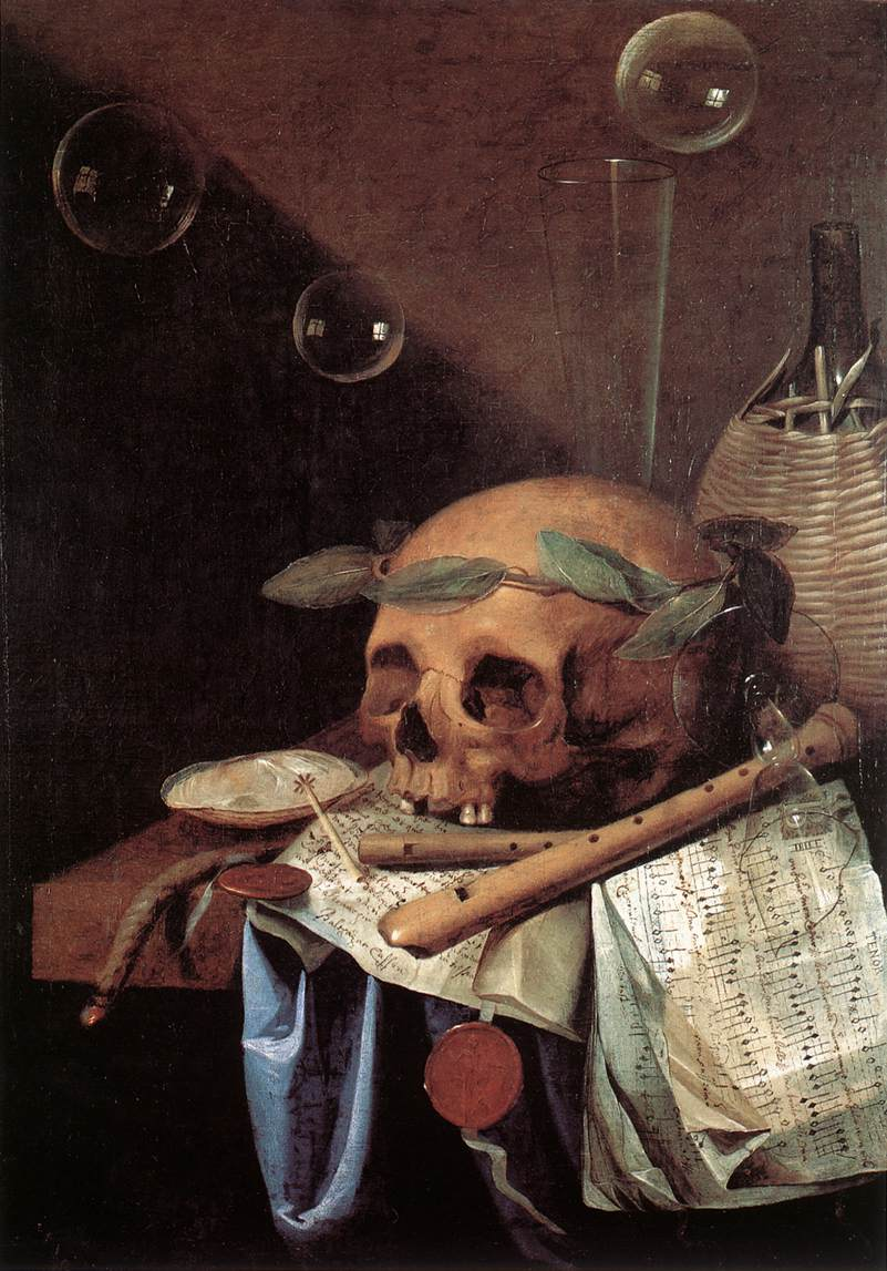 Vanitas harmen steenwijk paints art for Miroir dans l art
