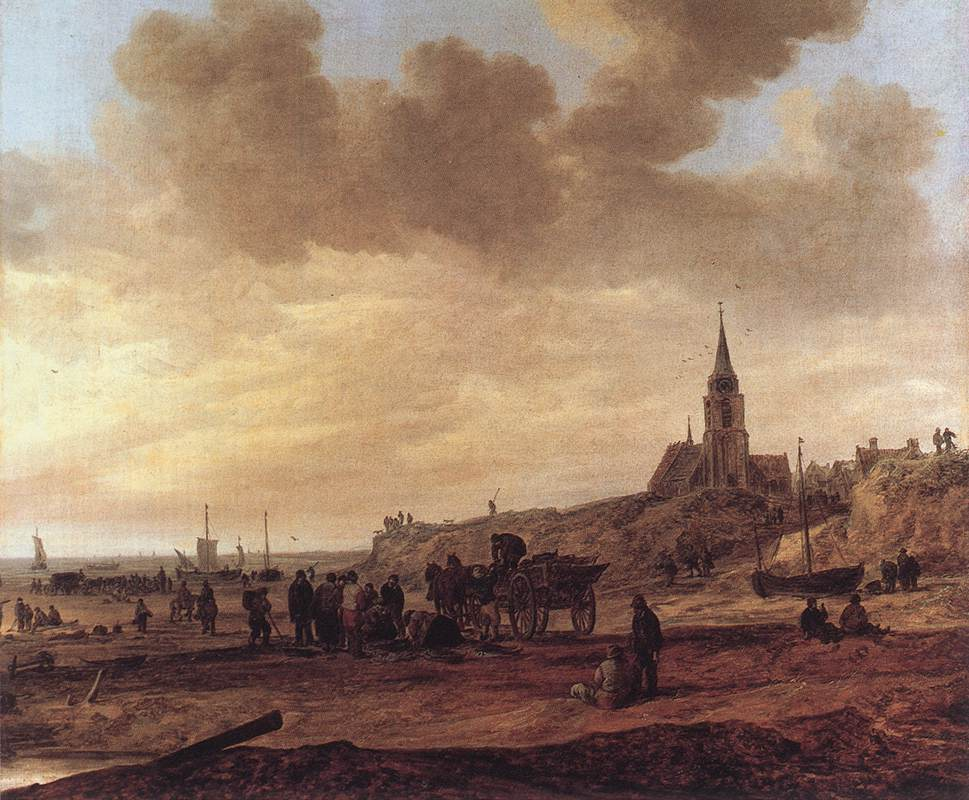 Beach at Scheveningen