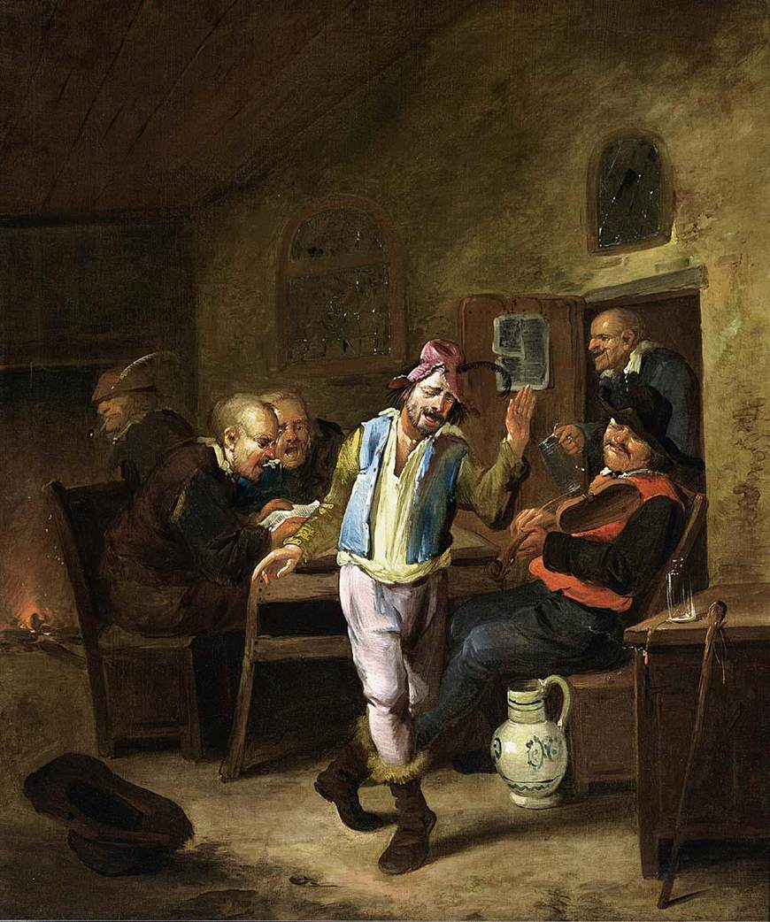 Peasants in a Tavern