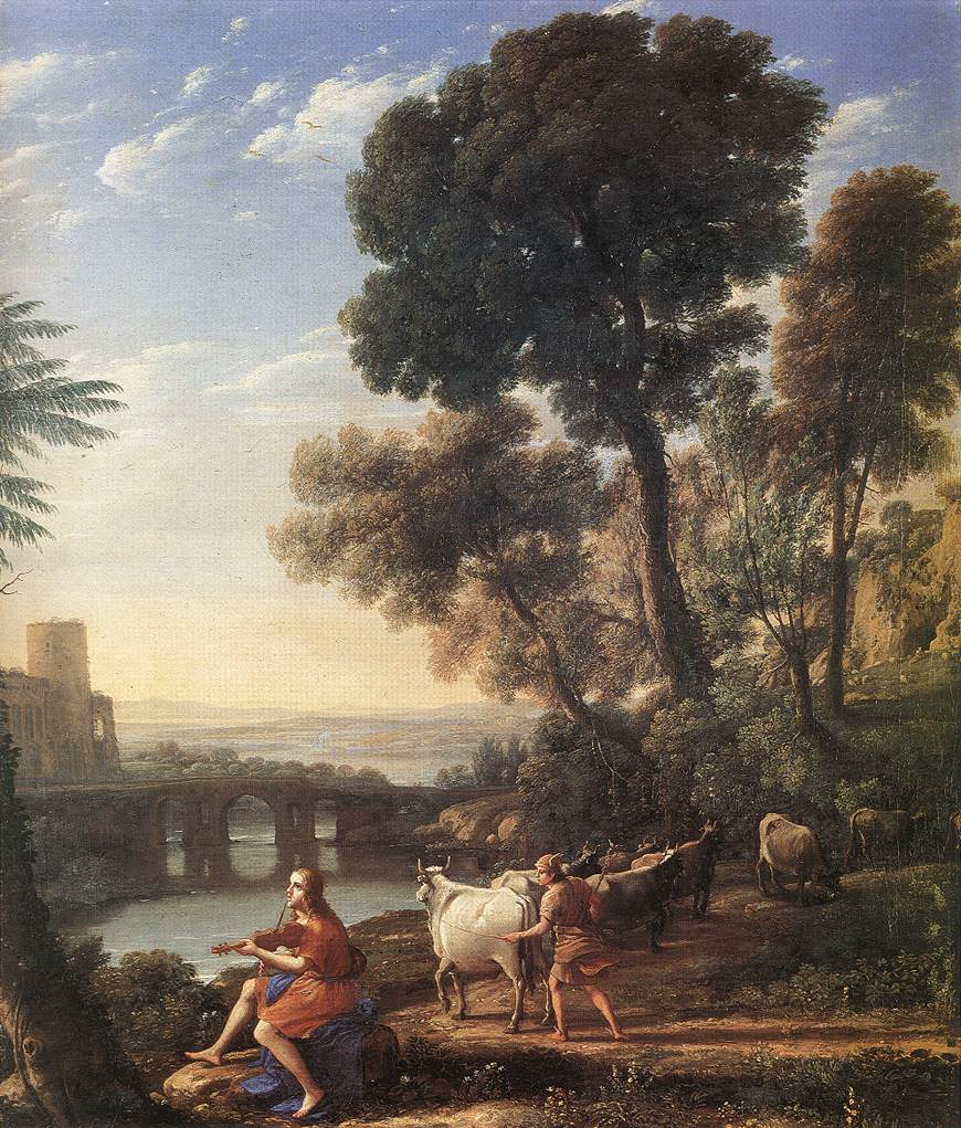 Landscape with Apollo Guarding the Herds of Admetus