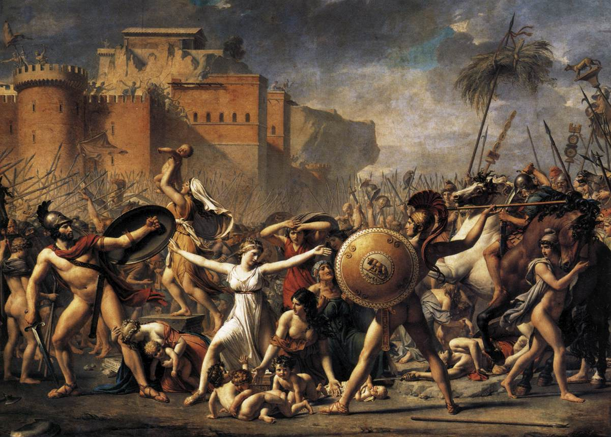 The Intervention of the Sabine Women
