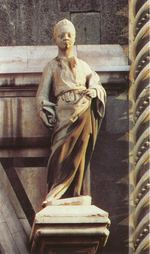 Prophet (right of the Porta della Mandorla)