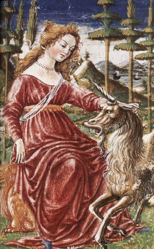 Chastity with the Unicorn