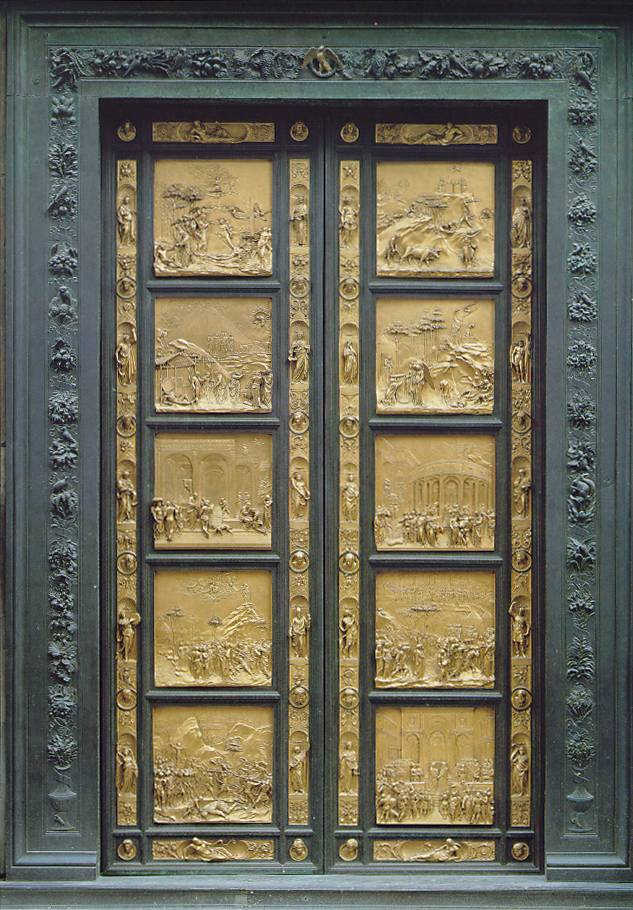 East Door of the Baptistry