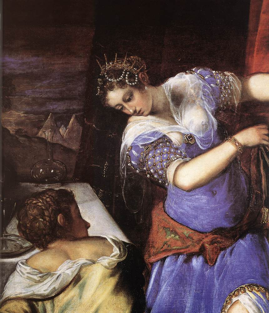 tintorettos judith and holofernes essay Essay writing , editing & research that defined the new style and one of the most important was artemisia gentileschi can be seen even in her work judith and.