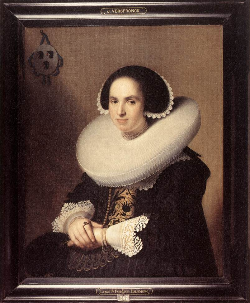 Portrait of Willemina van Braeckel