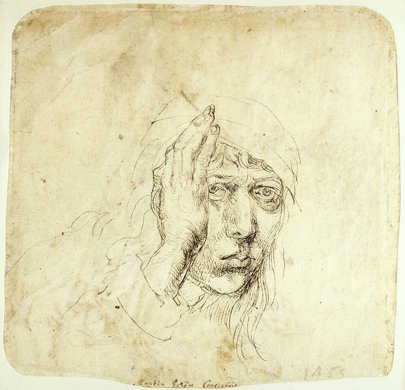 Self-Portrait with a Bandage