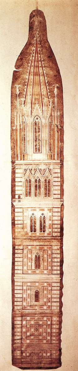 Design sketch for the Campanile