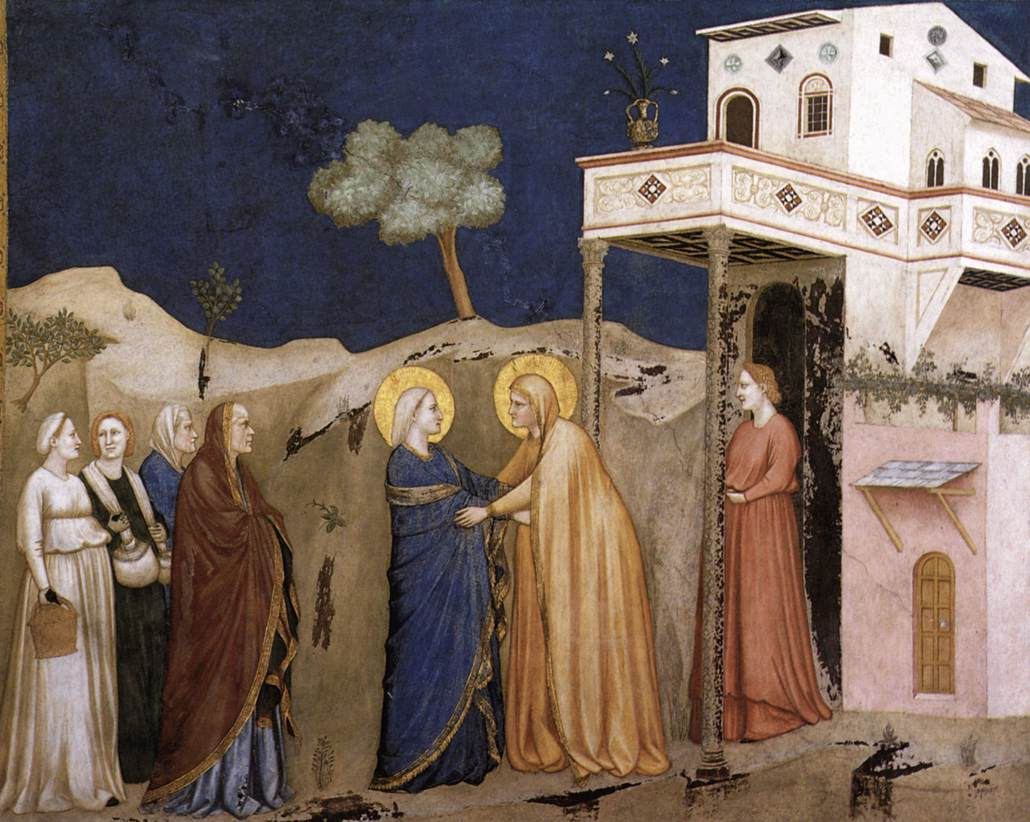 See more details about  quot The Visitation quot Giotto Di Bondone Frescoes