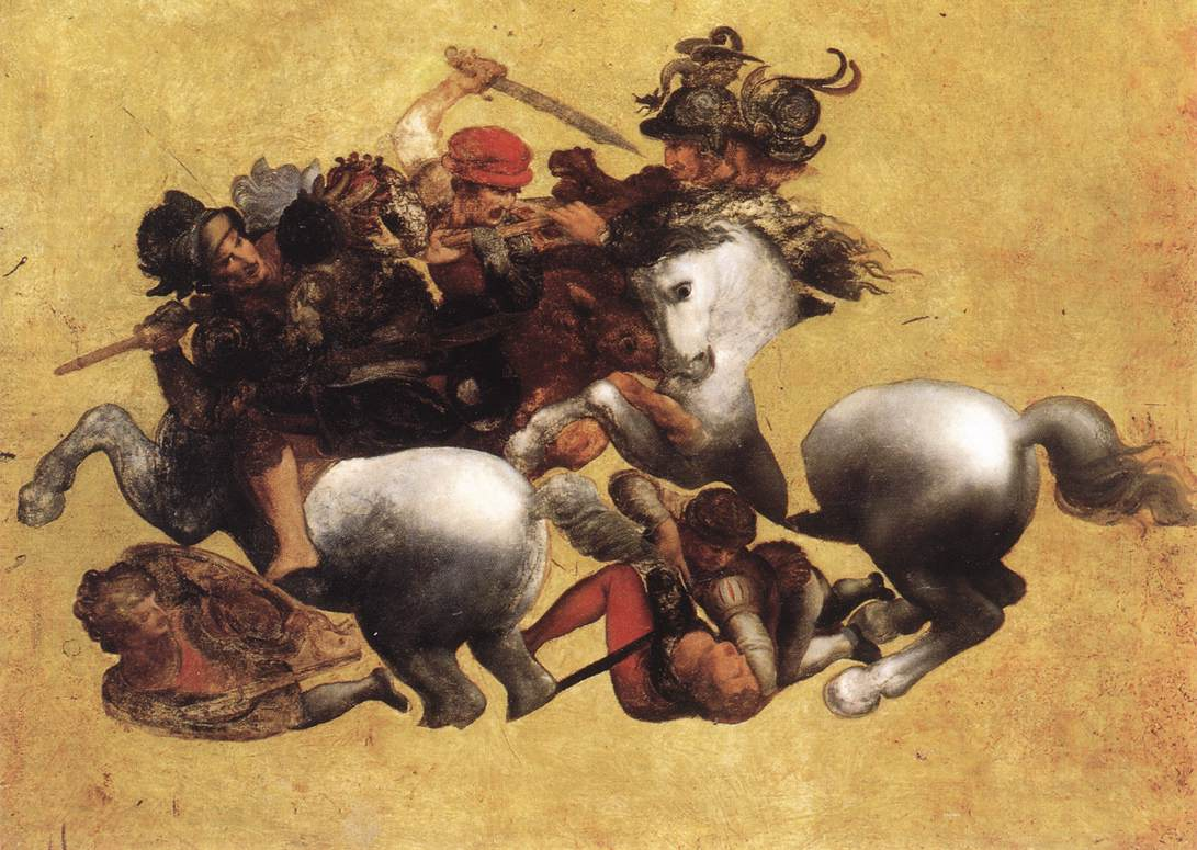 Battle of Anghiari (Tavola Doria)