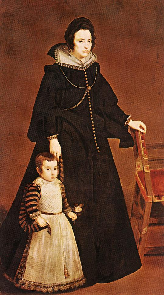 Doña Antonia de Ipeñarrieta y Galdós and her Son Luis