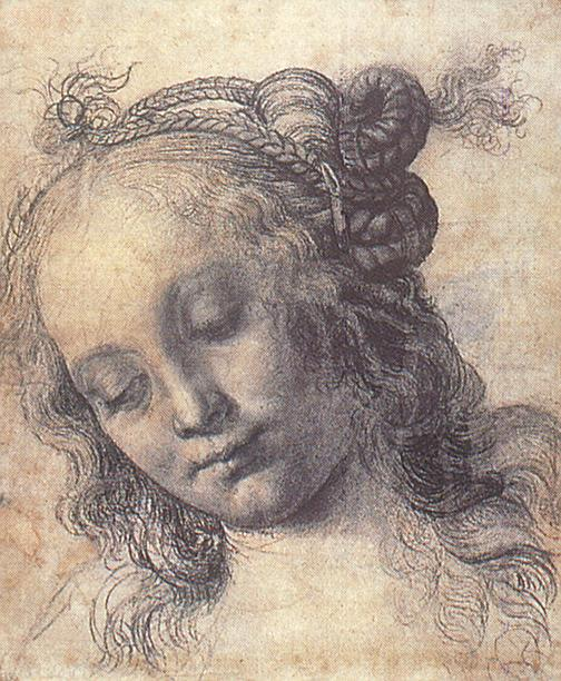 Head of a Girl (study)