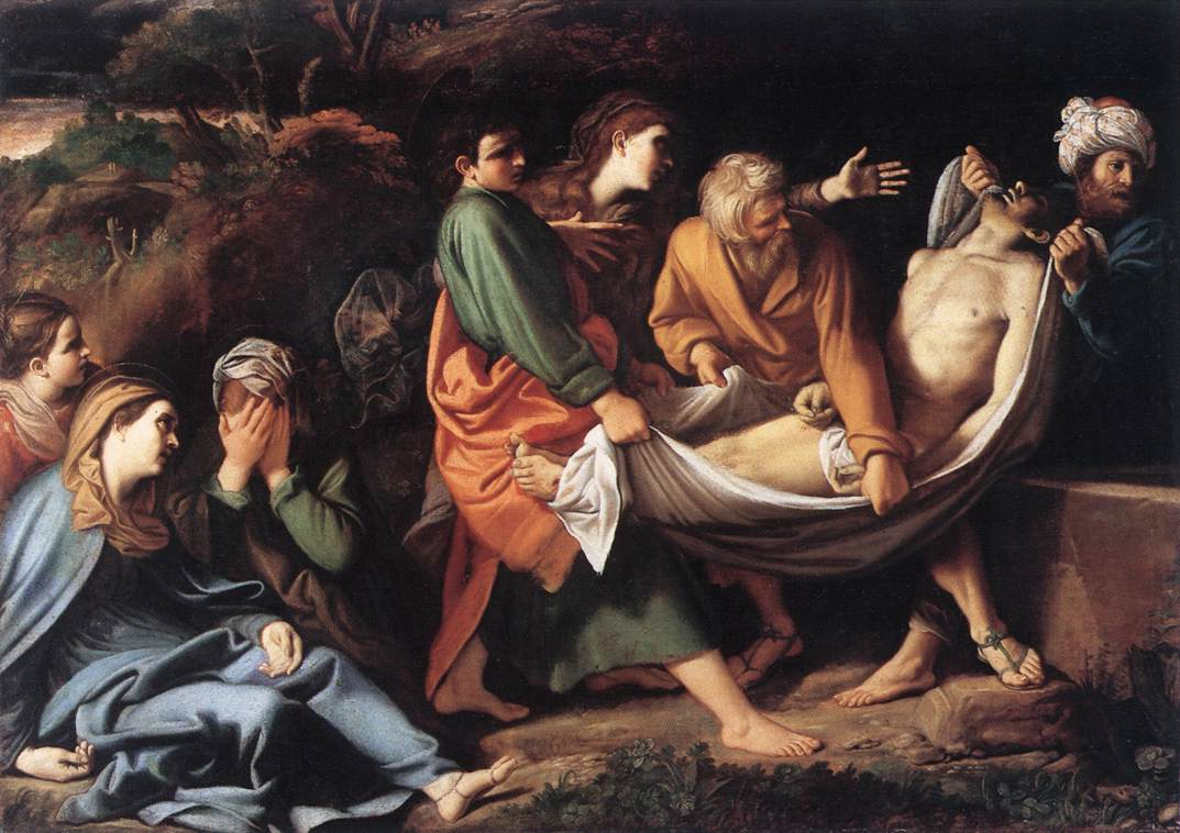 Entombment in a Mausoleum