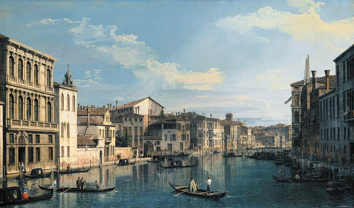Grand Canal Venice Venice The Grand Canal From